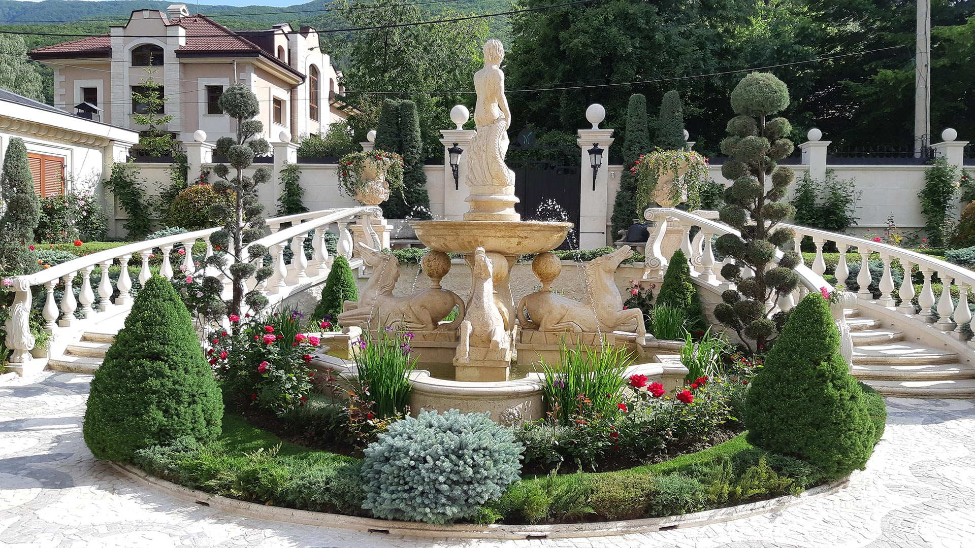 Озеленяване на дворове и градини - Grean Dream
